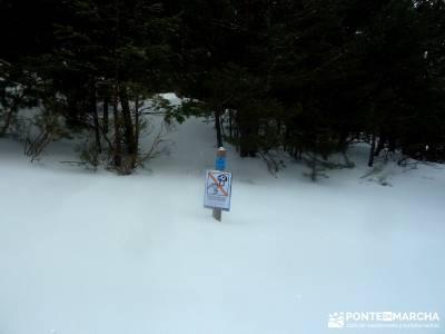 Raquetas de Nieve - Puerto de Cotos; grupos de turismo; ocio y aventura;equipo para trekking